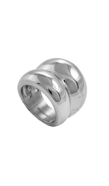 Grey Ring GR008 steel Edelstahl silber
