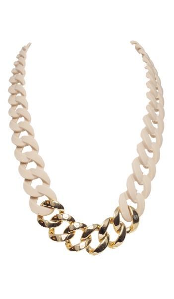 HANSE-KLUNKER Damen Kette 107100 Edelstahl sand gold