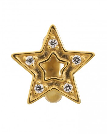 Endless JLo Charm Shiny Star 1576 gold