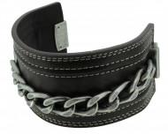 POLICE Herren Armband PJ22277BLC-02 Leder braun