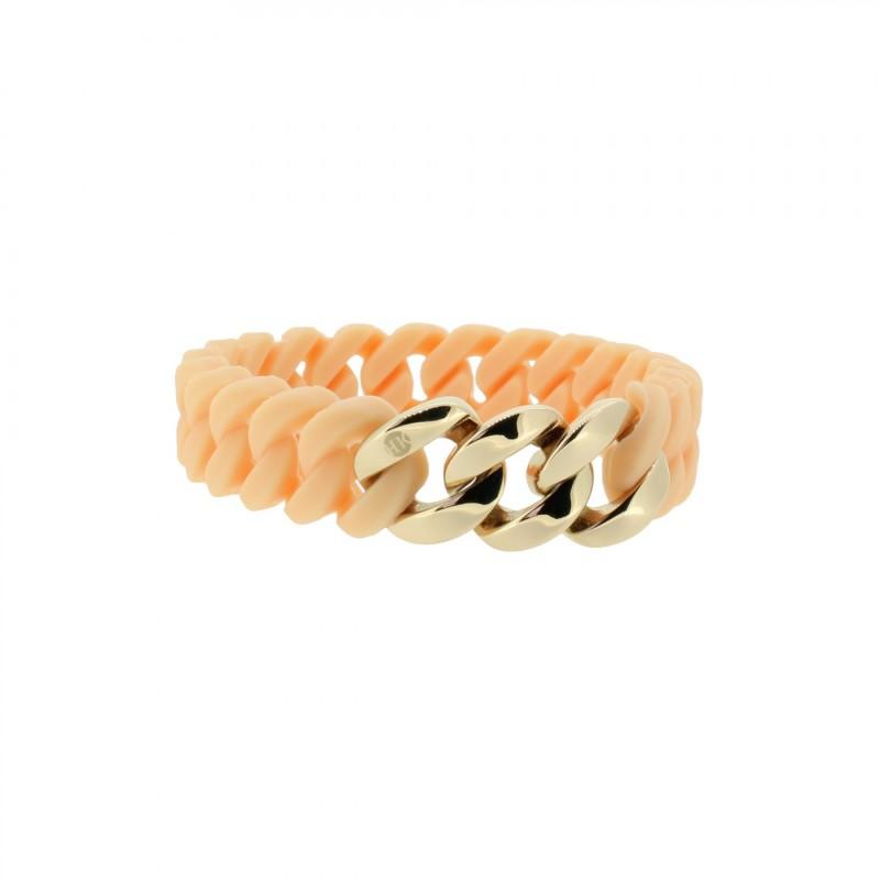 HANSE-KLUNKER MINI Damen Armband 107710 Edelstahl rosenude rosegold