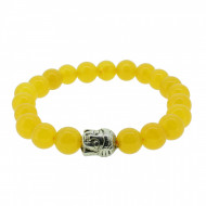 Silverart Buddha Armband 107877 FAB003 Topas gelb Metal nickelfrei versilbert