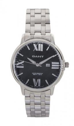Gant Damenuhr Brighton W10863 Edelstahl silber schwarz