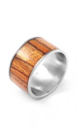 Grey Ring 100070 Edelstahl silber gold