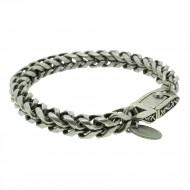 THO Herren Armband 107802 THO-AB003 Metal nickelfrei grau