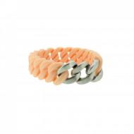 HANSE-KLUNKER MINI Damen Armband 107972 Edelstahl rosenude silber matt