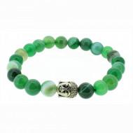 Silverart Buddha Armband 107862 FAB018 Achat grün Metal nickelfrei versilbert