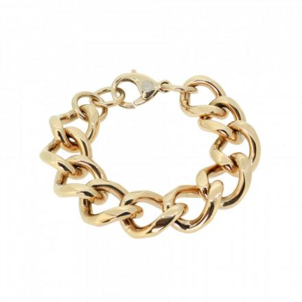 HANSE-KLUNKER METAL CURVE Damen Armband 107734 Edelstahl 316L rosegold